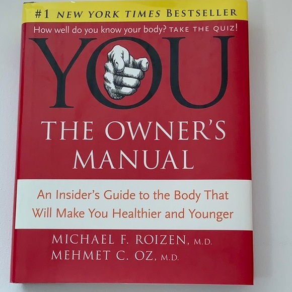 Book: You The Owners Manual